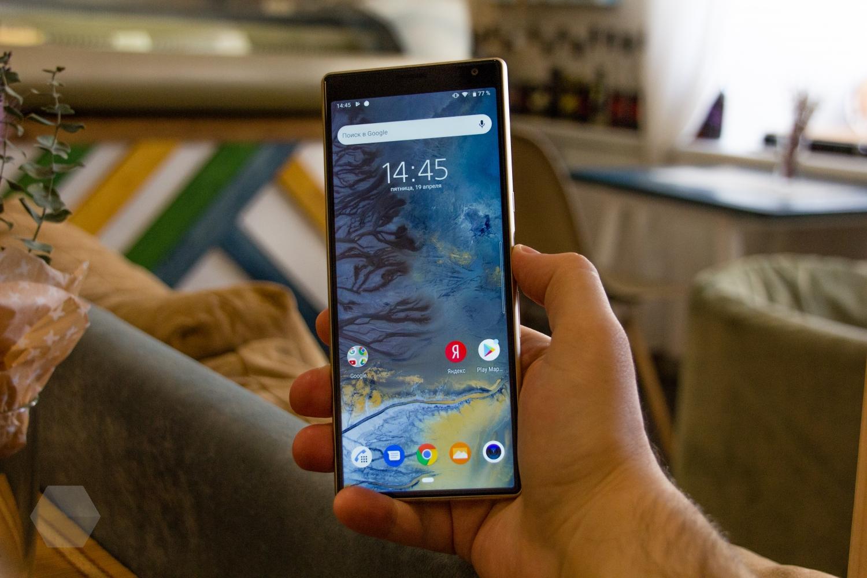 Обзор Sony Xperia 10 и 10 Plus. Идея нравится, но реализация хромает1