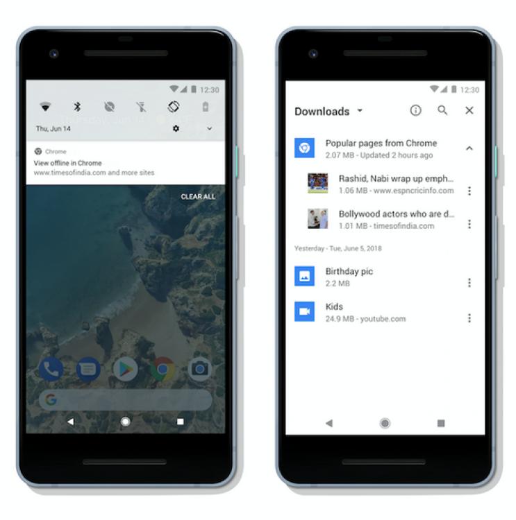 Google Chrome для Android будет автоматически кэшировать интересные новости1