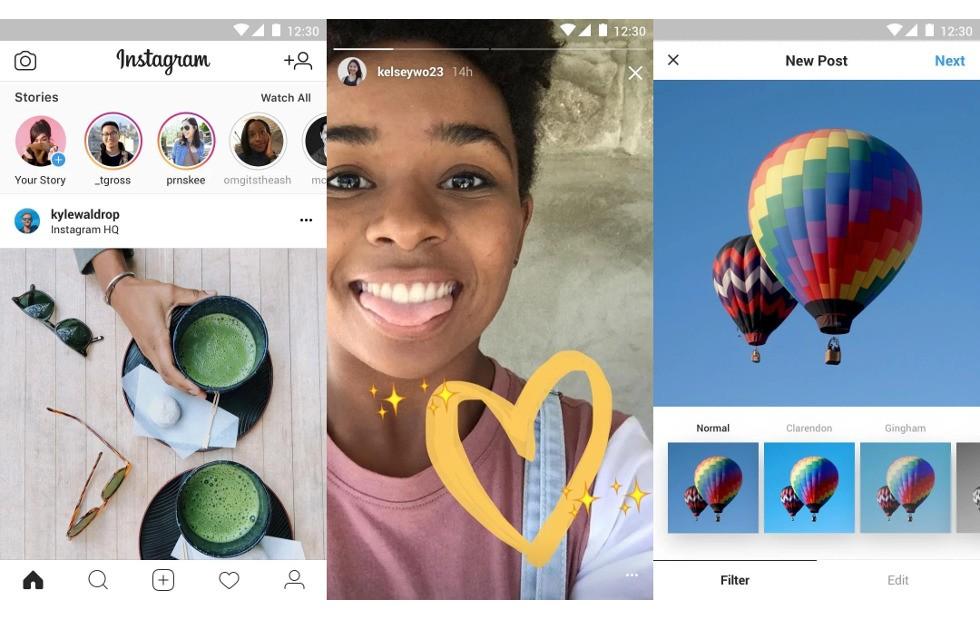 Instagram для Android получил упрощённую версию1