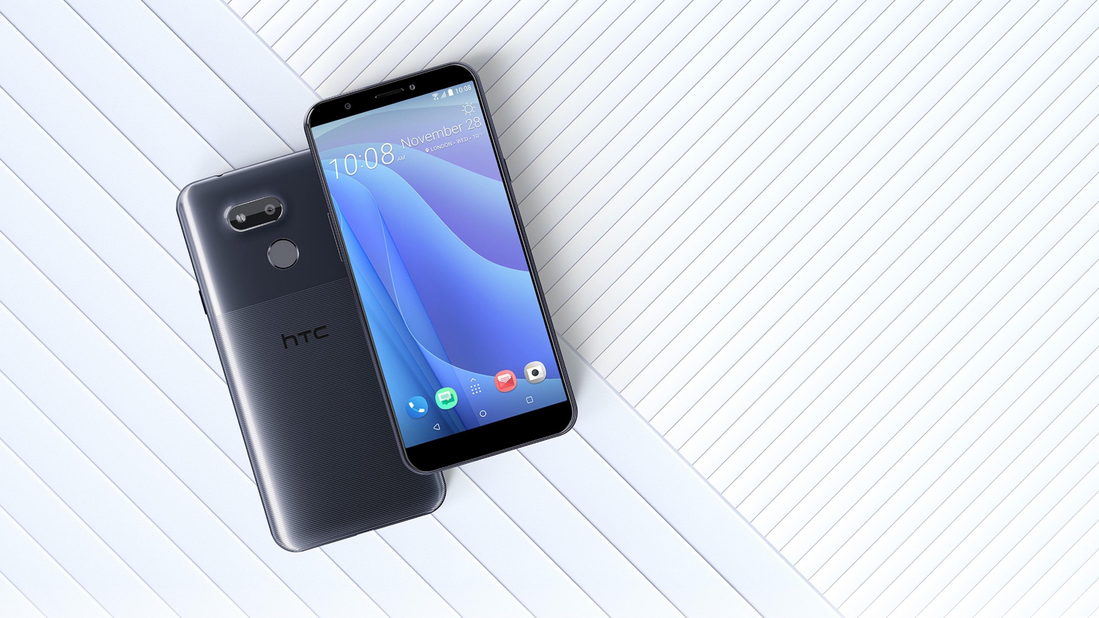 HTC Desire 12s: необычный дизайн и NFC