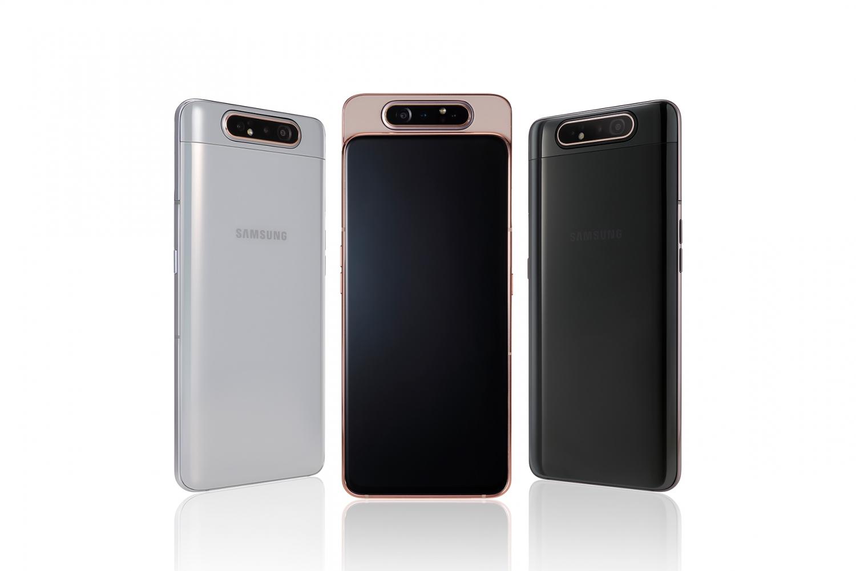 Samsung представила Galaxy A80 с поворотной камерой и A70 с дисплеем Infinity-U2