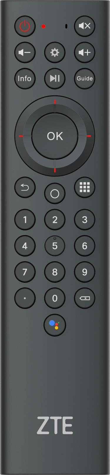ZTE B866 — первая приставка для Android TV компании в России4