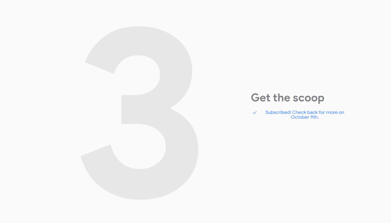 Промостраница в Google Store тизерит Pixel3 и 3XL1