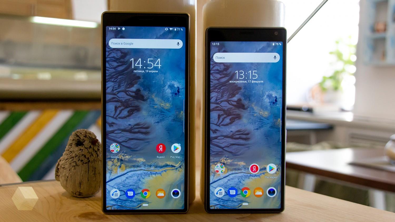 Обзор Sony Xperia 10 и 10 Plus. Идея нравится, но реализация хромает