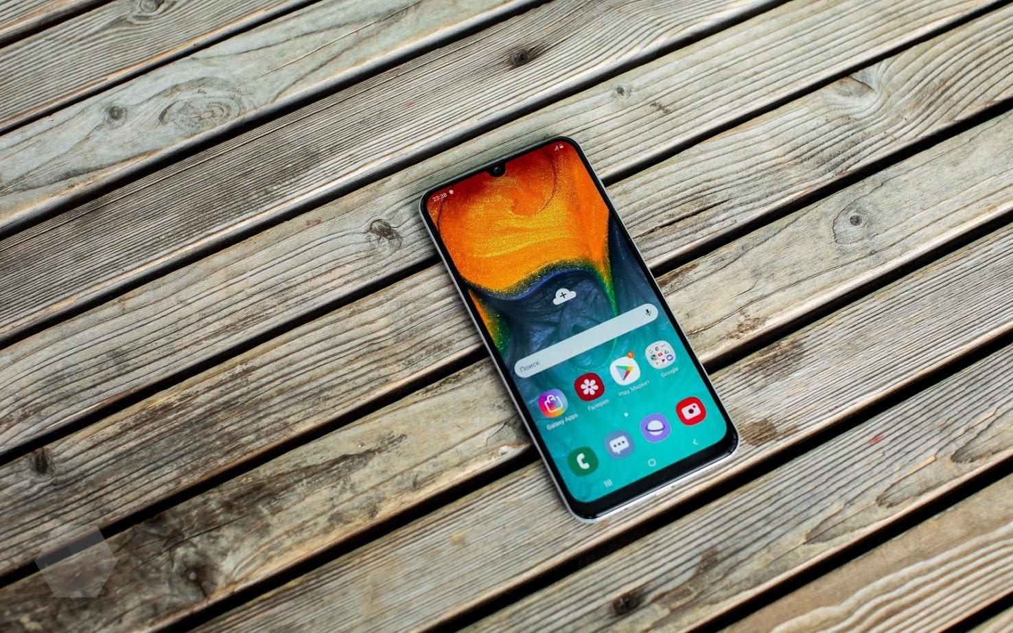 Обзор Samsung Galaxy A30 и A50 — вся власть экрану2