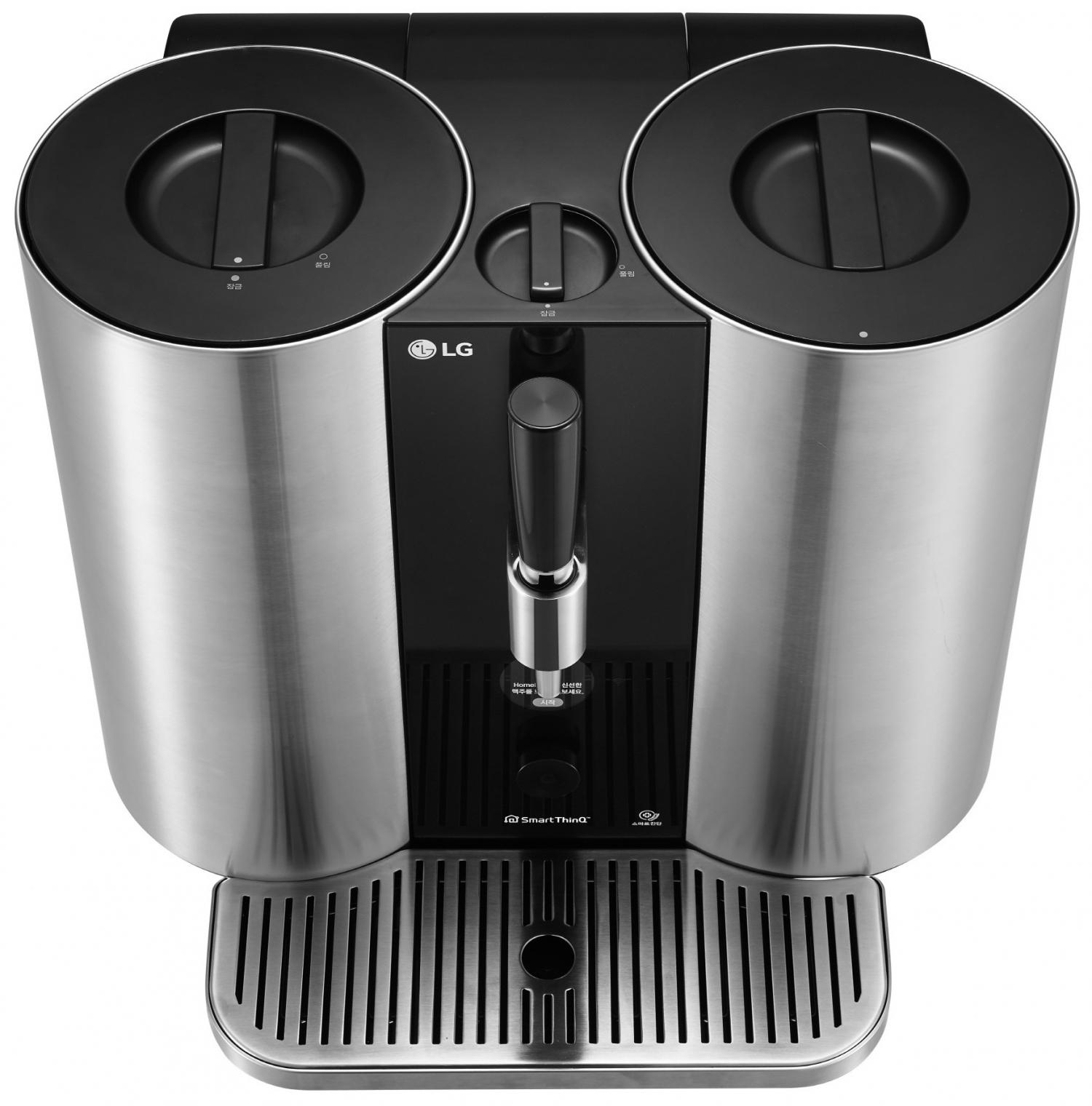 LG представит домашнюю капсульную систему для приготовления пива2