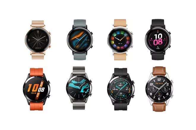 Huawei представила Watch GT 2 в двух версиях1