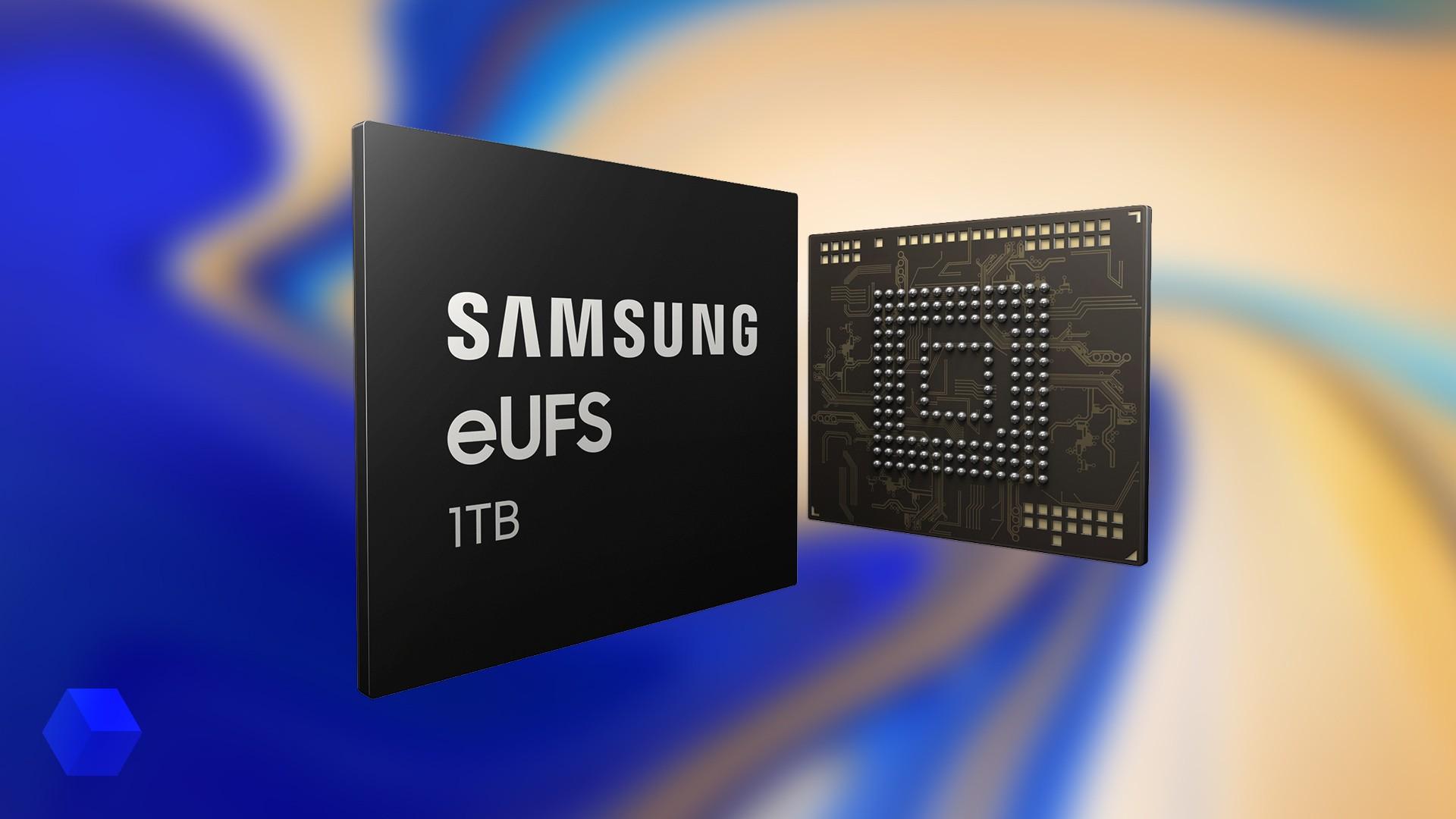 Смартфоны Samsung получат модуль встроенной памяти на 1 ТБ
