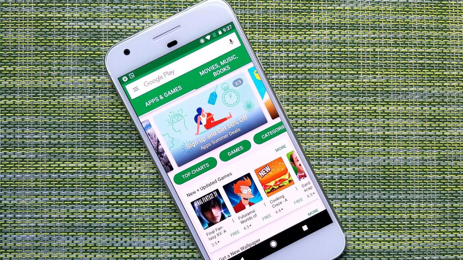Google готовит бонусную программу за покупки в Play Маркете