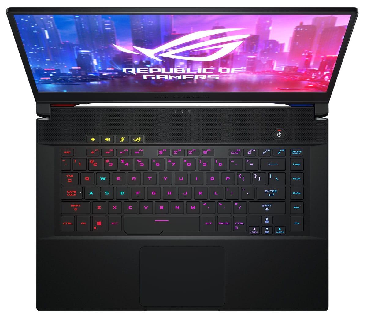 Новые игровые ноутбуки Asus ROG стали доступны в России6