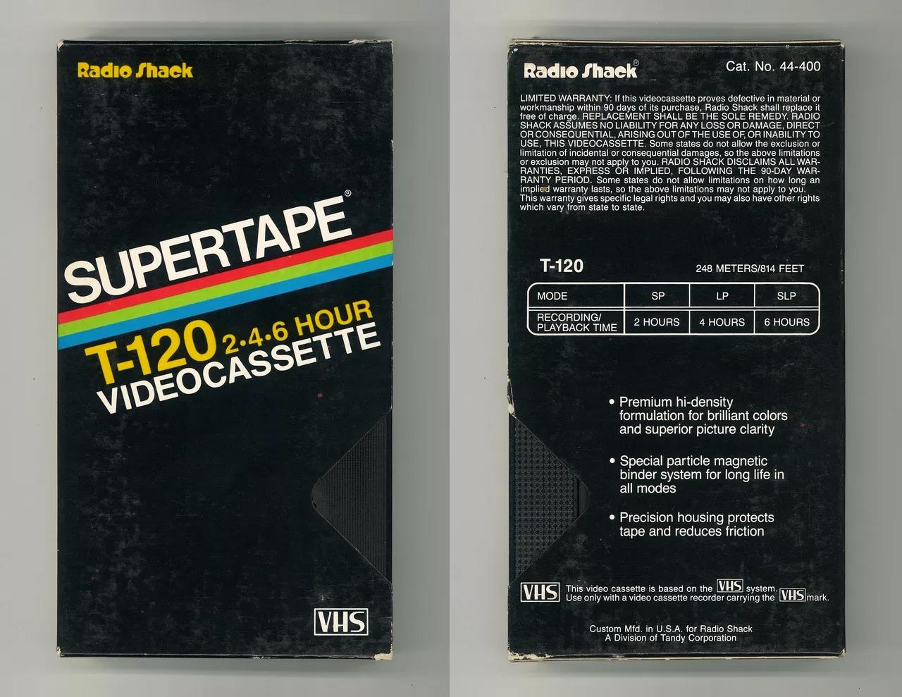 Вспомните дизайн коробок VHS-кассет с этим видео0