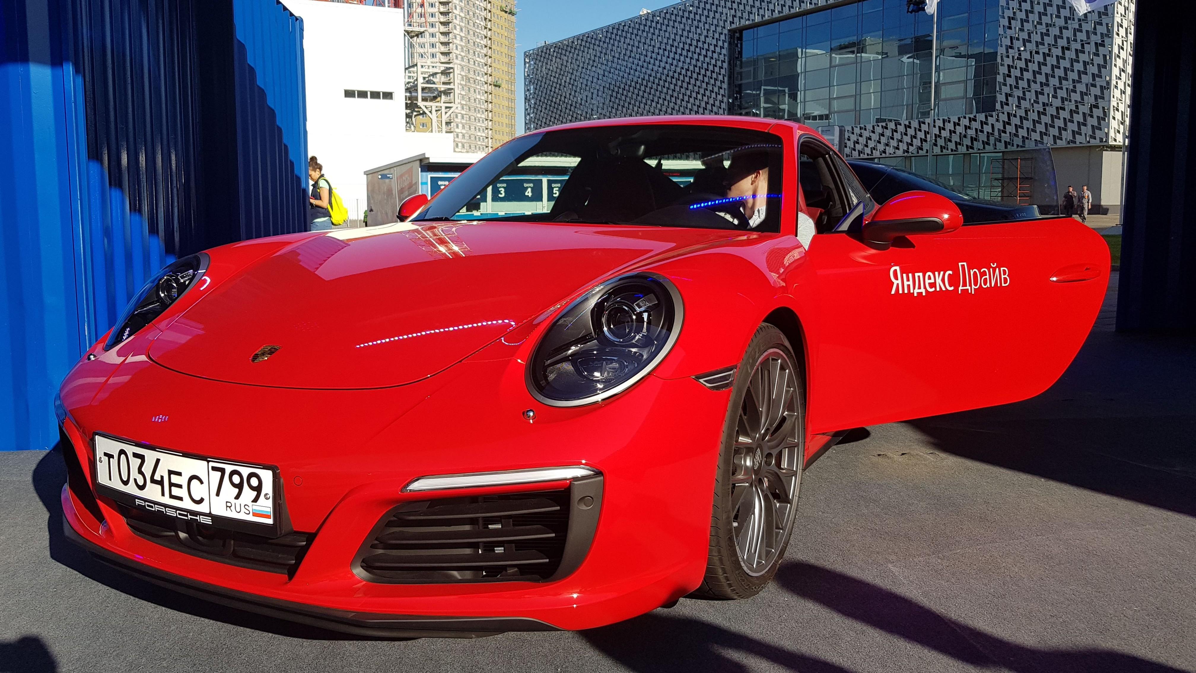 Автопарк «Яндекс.Драйв» пополнился Porsche Macan и 911 Carrera RS