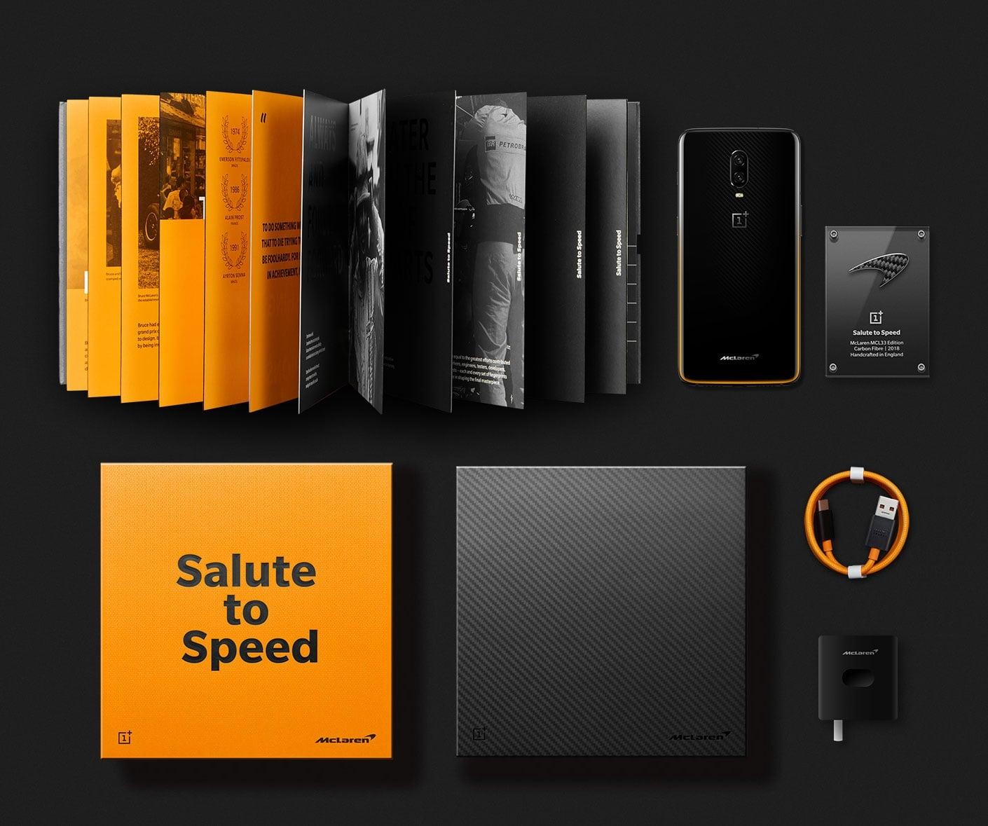 OnePlus 6T McLaren Edition: «салют скорости»4