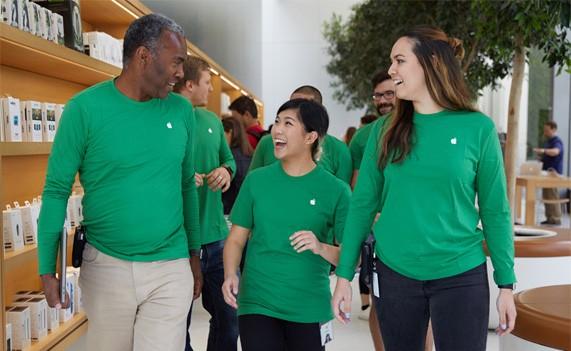 Apple на один день сменит логотип в честь Дня Земли2