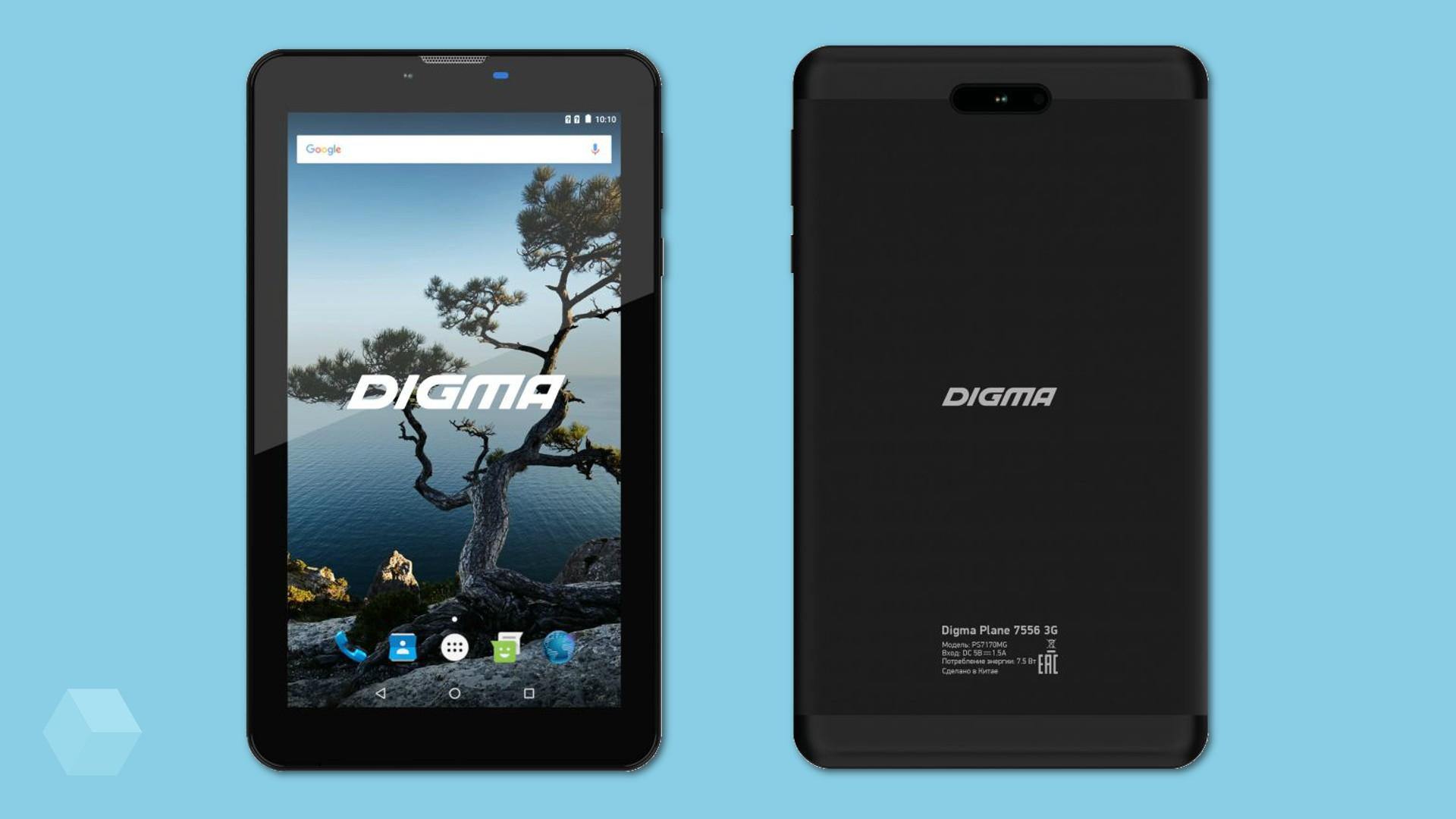 DIGMA презентовала бюджетный планшет с LTE