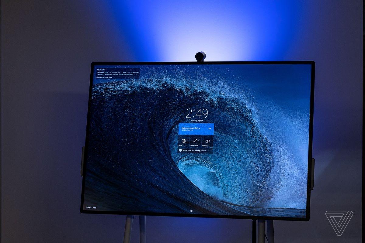 Microsoft Surface Hub 2S: 85-дюймовый дисплей для совместной работы2