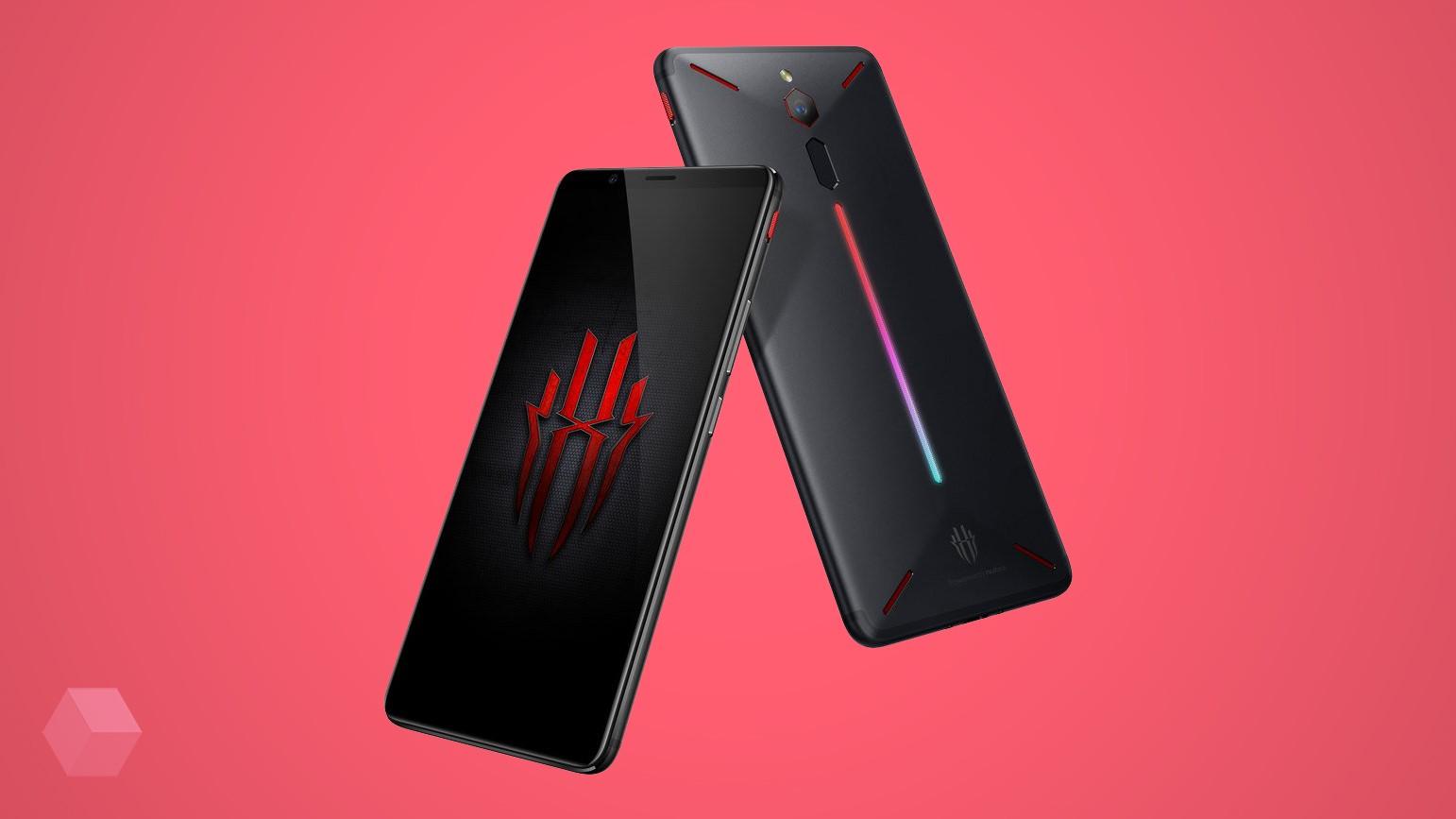 Nubia представила игровой смартфон Red Magic