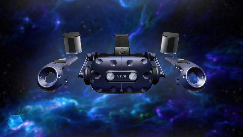 HTC представила в России VR-комплект Vive Pro Startet Kit