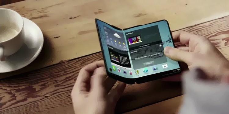 Подробности о дисплее складного смартфона Samsung1
