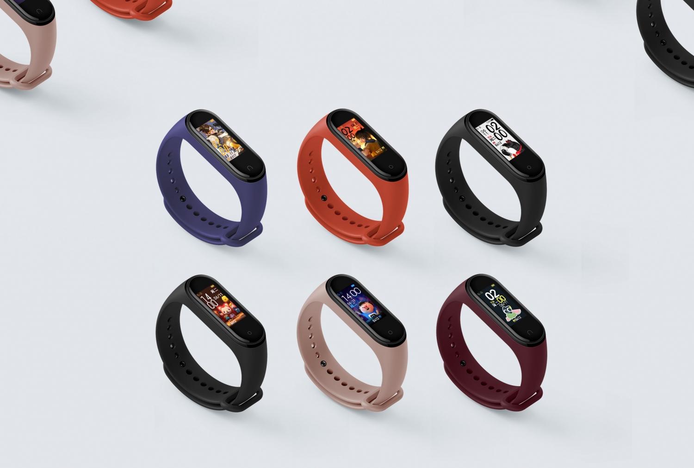 Xiaomi официально представила умный браслет Mi Band 4 с NFC2