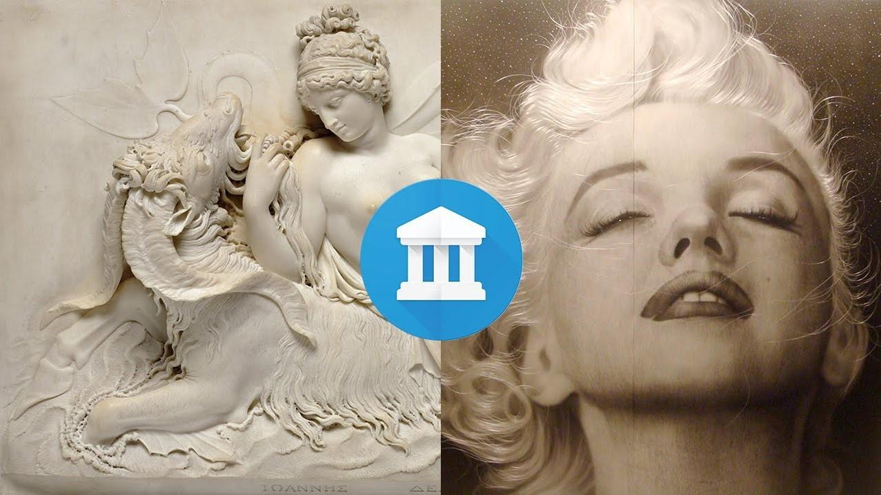Google найдёт вашего близнеца среди картин и скульптур