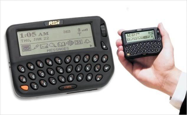 День в истории: первое устройство BlackBerry выпущено 20 лет назад1