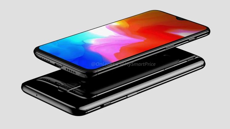Подробные рендеры OnePlus 6T подтверждают предыдущие утечки4