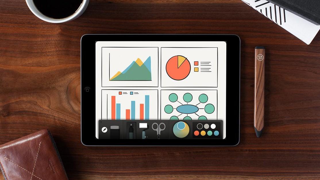 Популярная «рисовалка» Paper получила поддержку новых iPad Pro