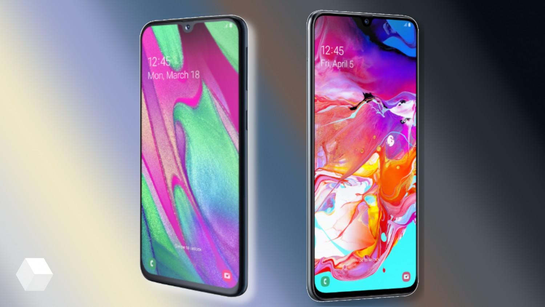 Samsung представила смартфоны Galaxy A40 и A70