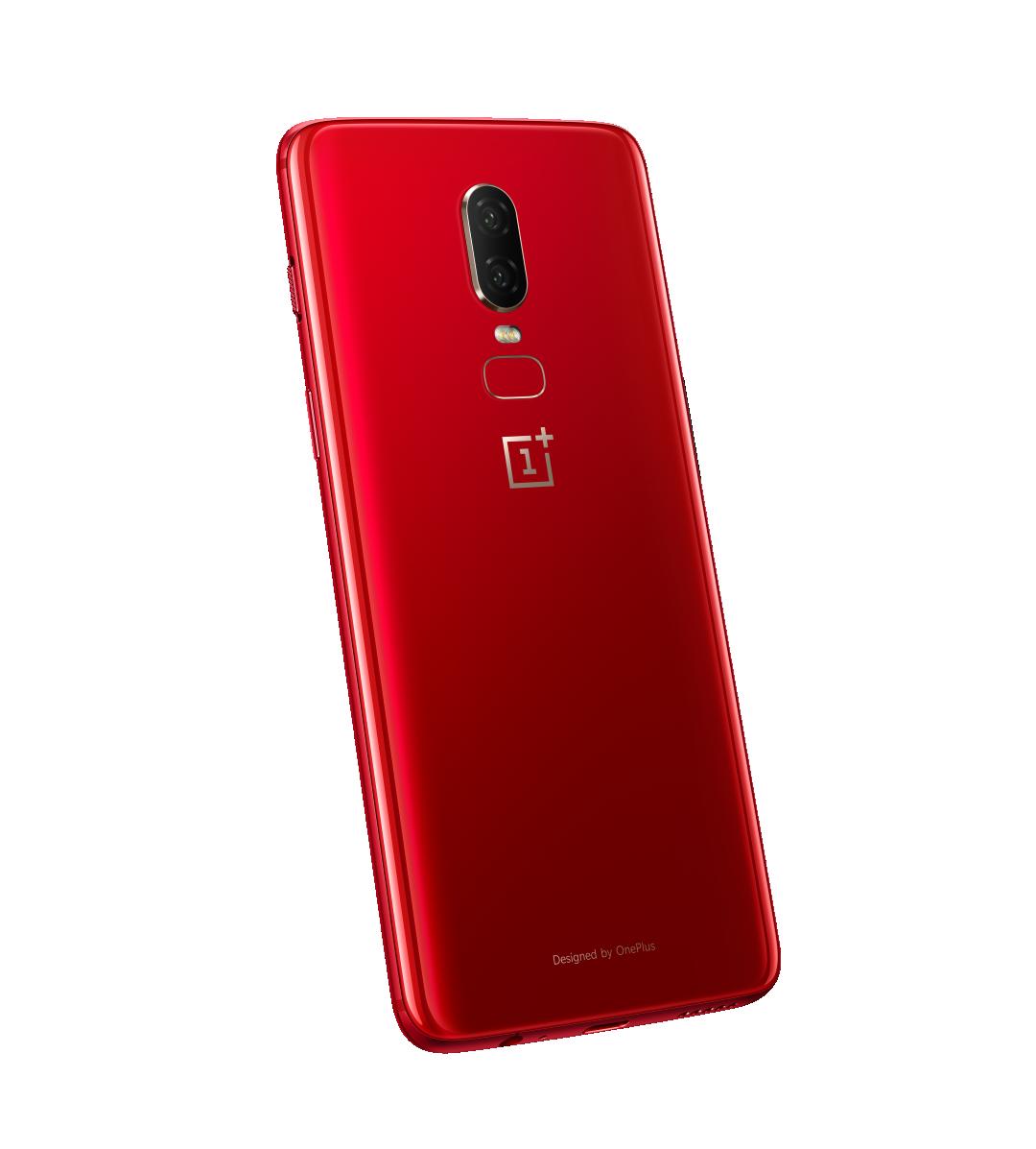 OnePlus выпустила OnePlus 6 в красном цвете2