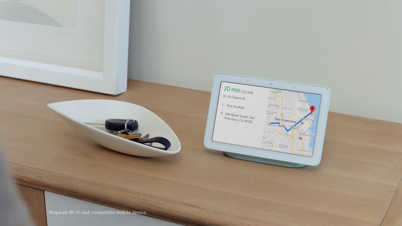 Google Home Hub визуализирует запросы к Ассистенту2