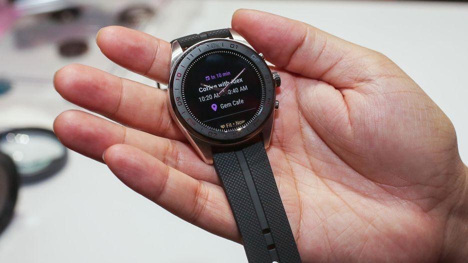 LG Watch W7 — гибридные часы с Wear OS и механическими стрелками4