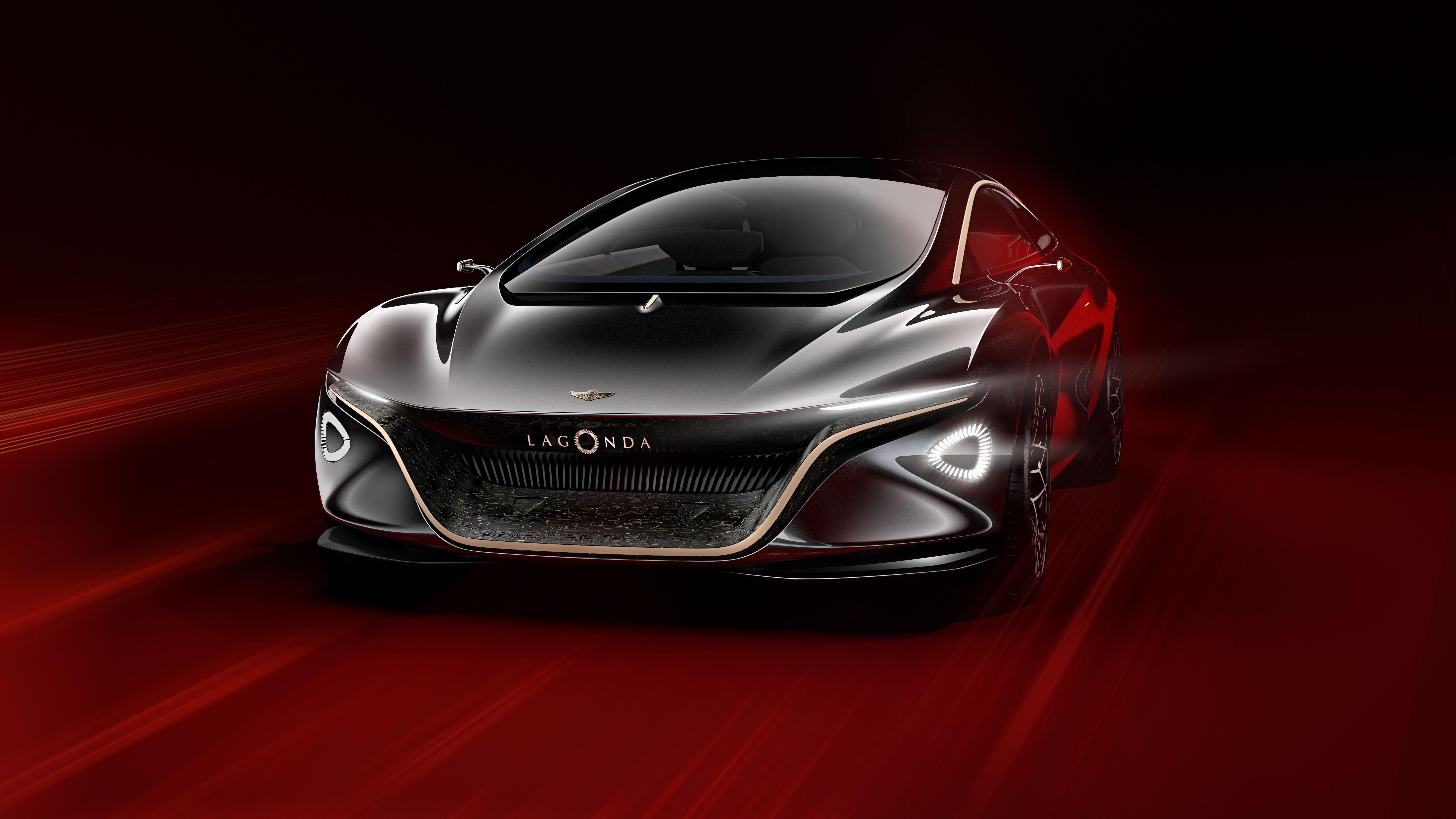 Aston Martin представила роскошный электрический седан