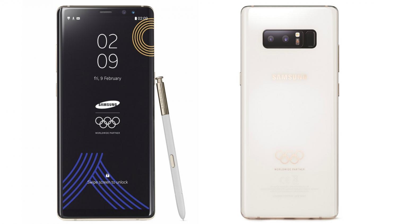 Samsung выпустит ограниченное издание Galaxy Note 8 Winter Olympics edition1
