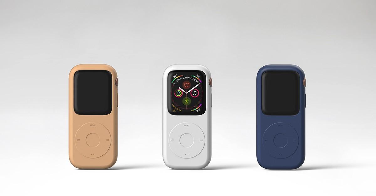Концепт кейса для превращения Apple Watch в iPod4