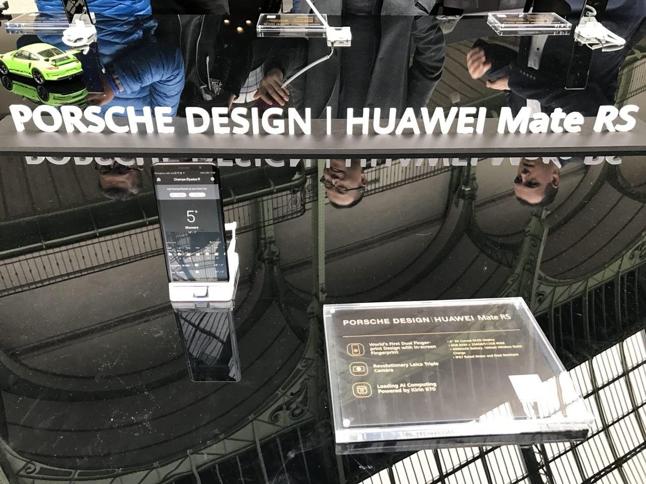 Mate RS Porsche Design получил два сканера отпечатков пальцев5