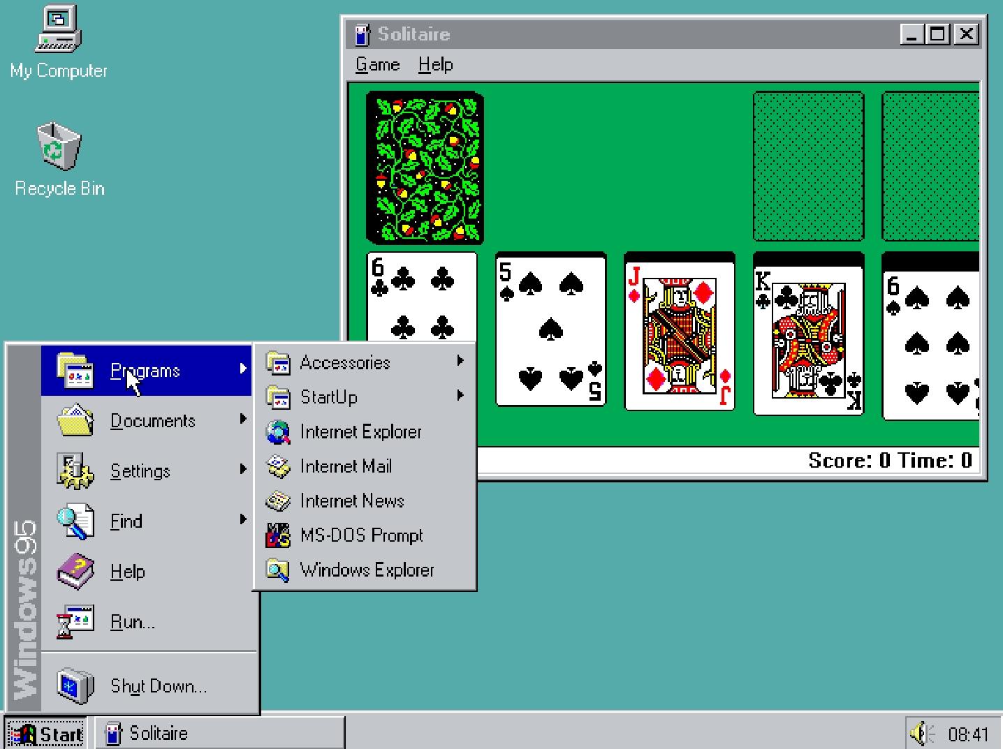 История развития и стандартные обои операционной системы Windows5