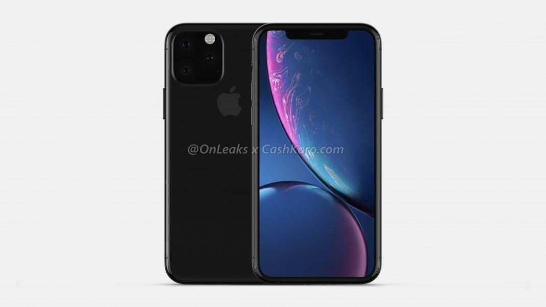 Рендеры iPhone 2019 года с камерой в форме треугольника3