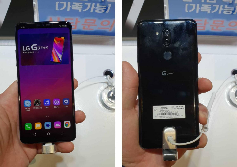 Появились подробные фото LG G7 ThinQ за день до анонса1