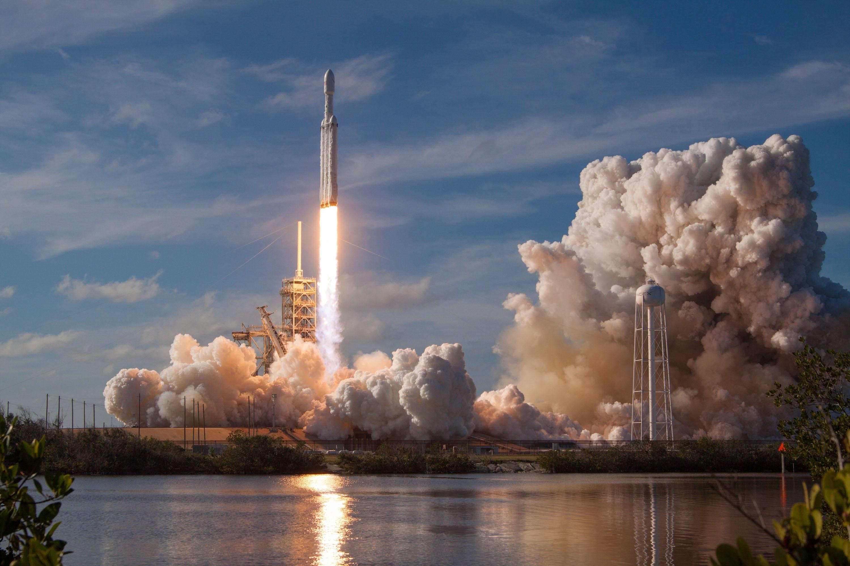 Обои Ракета, Облака. Космос foto 13