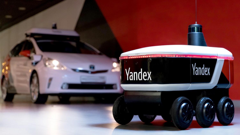 «Яндекс.Ровер» — робот для перевозки небольших грузов
