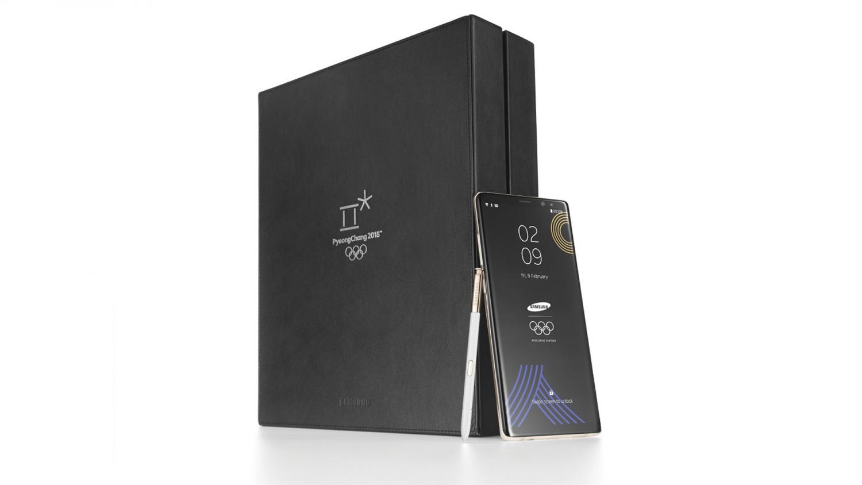 Samsung выпустит ограниченное издание Galaxy Note 8 Winter Olympics edition2