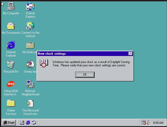 История развития и стандартные обои операционной системы Windows6