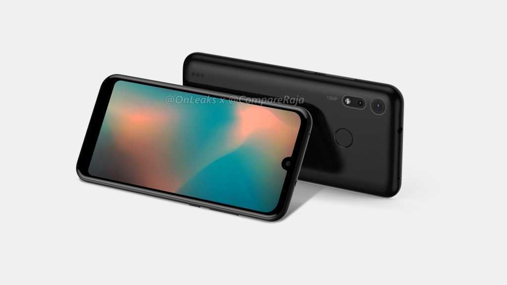 Рендеры смартфона Motorola P40 Play1