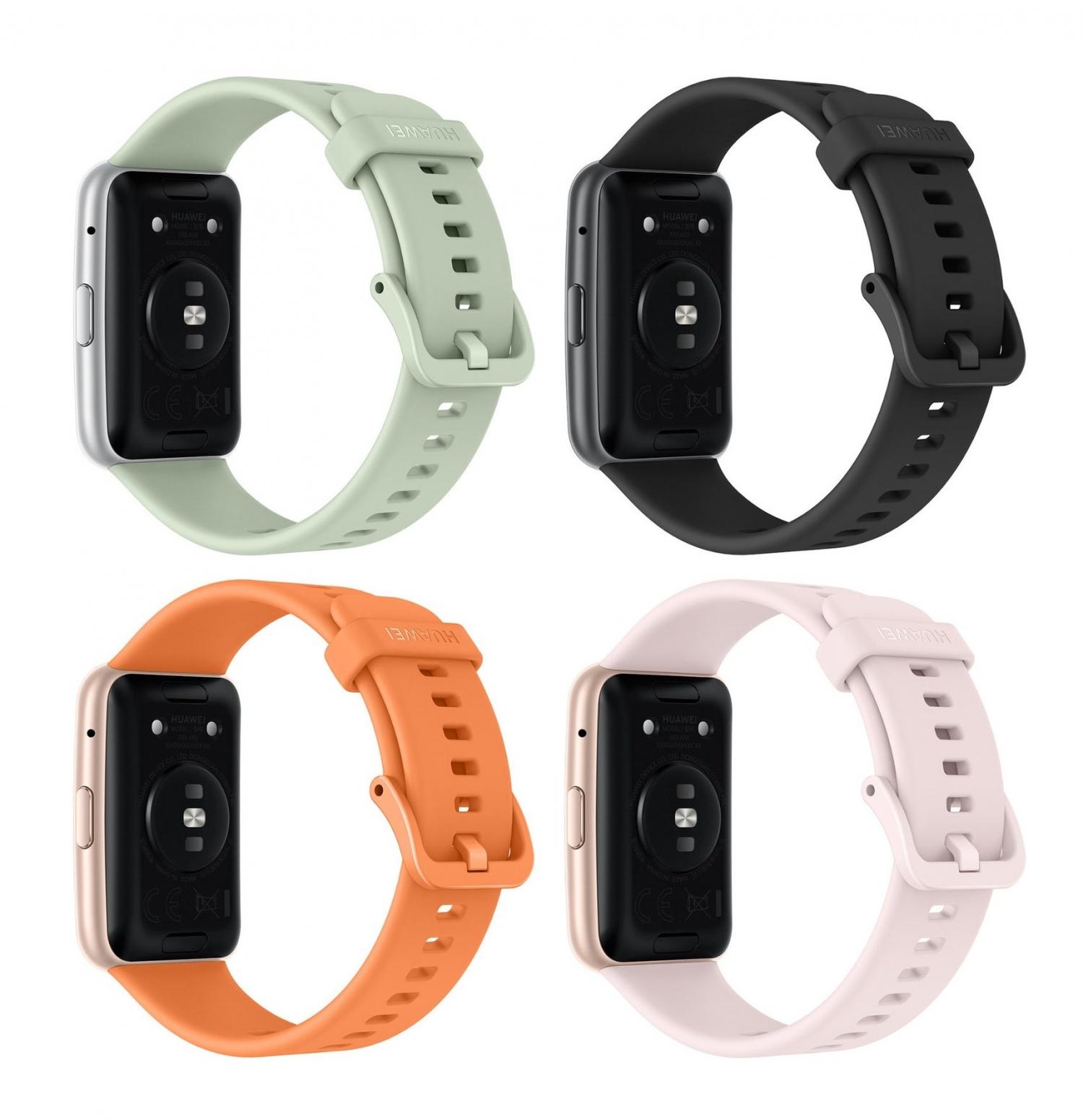 Официальные рендеры часов Huawei Watch Fit7