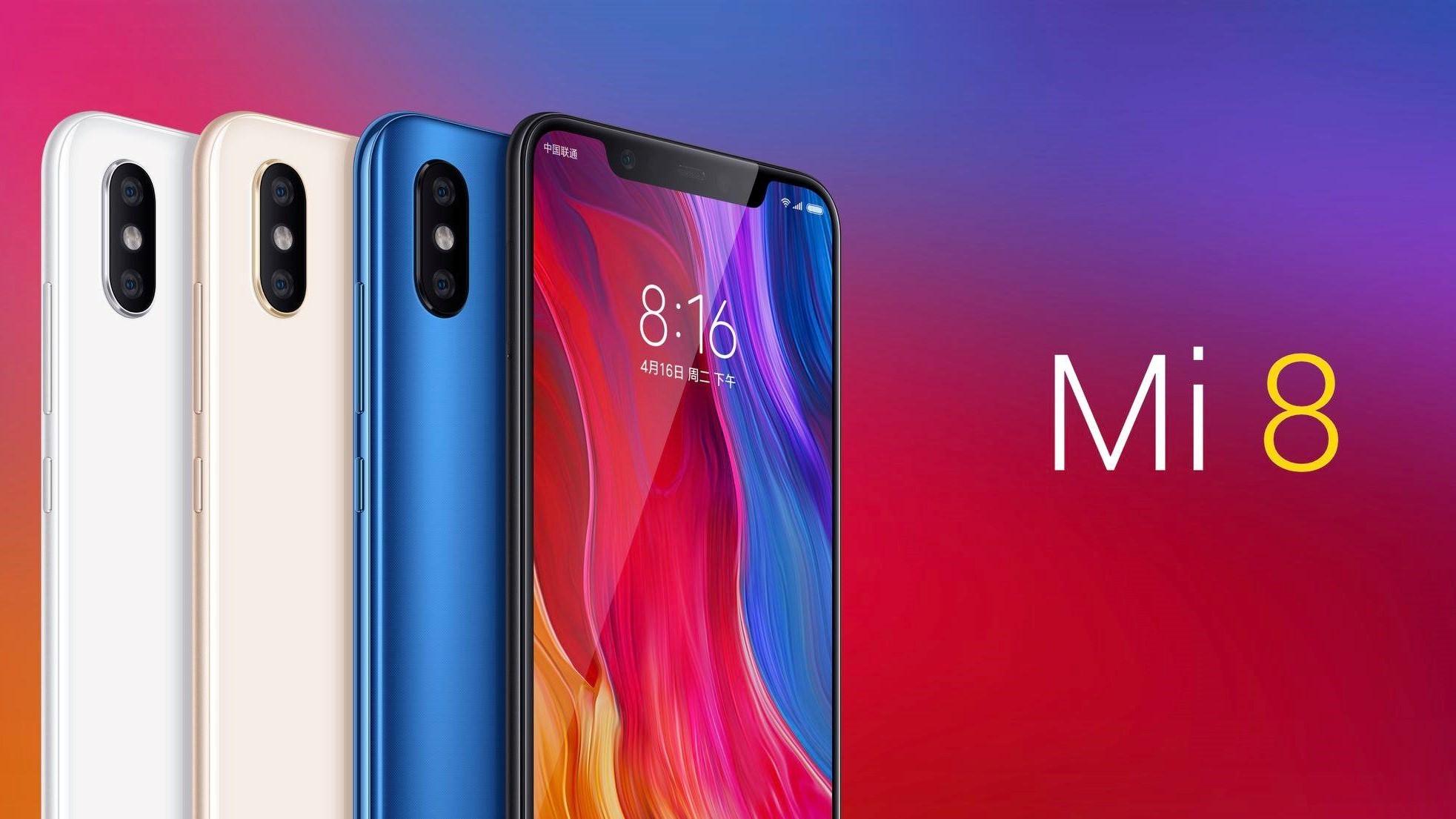 Xiaomi представила линейку смартфонов Mi 8