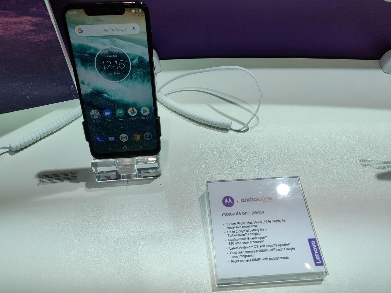 Motorola One и One Power—первые смартфоны бренда на Android One6