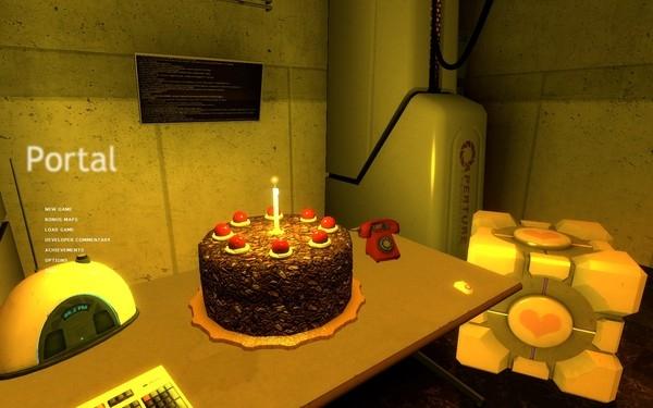 «Сбермаркет» использует в каталоге изображение торта из игры Portal2