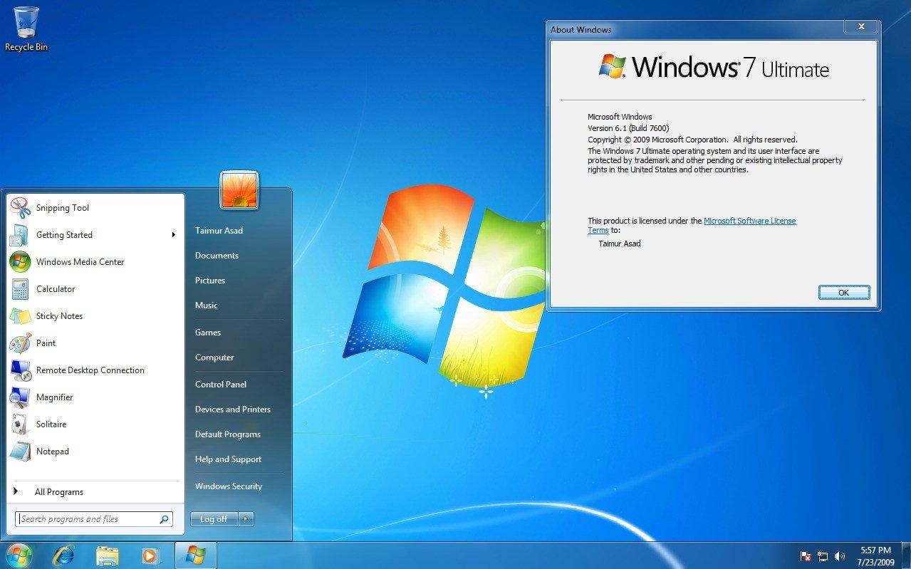 История развития и стандартные обои операционной системы Windows11