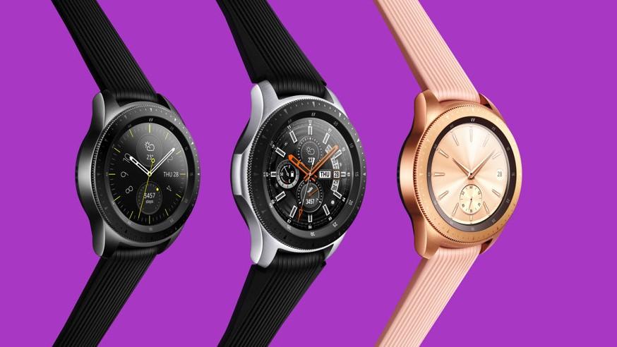 Сравнение спецификаций Galaxy Watch, Gear Sport и Apple Watch S3